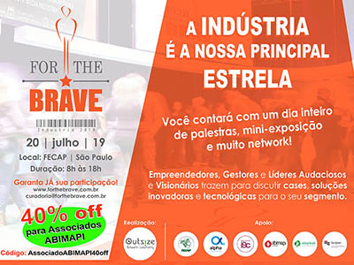 For the Brave - Indústrias 2019
